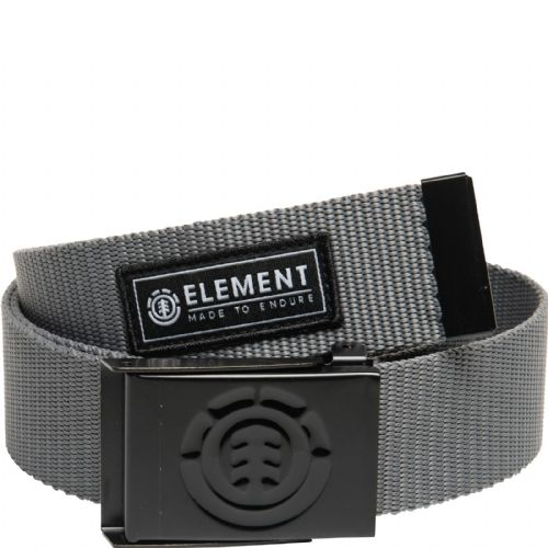 ELEMENT MENS BELT.NEW BEYOND GREY WEBBING JEANS TROUSERS STRAP BOTTLE OPENER S20